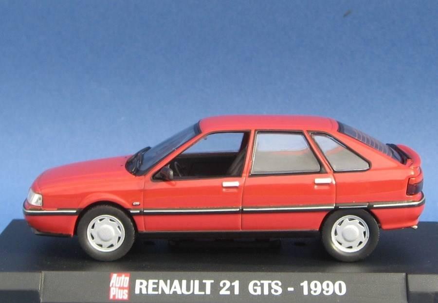 neu renault 21 gts fliessheck 1989 1993 rot 1 43 pkw. Black Bedroom Furniture Sets. Home Design Ideas
