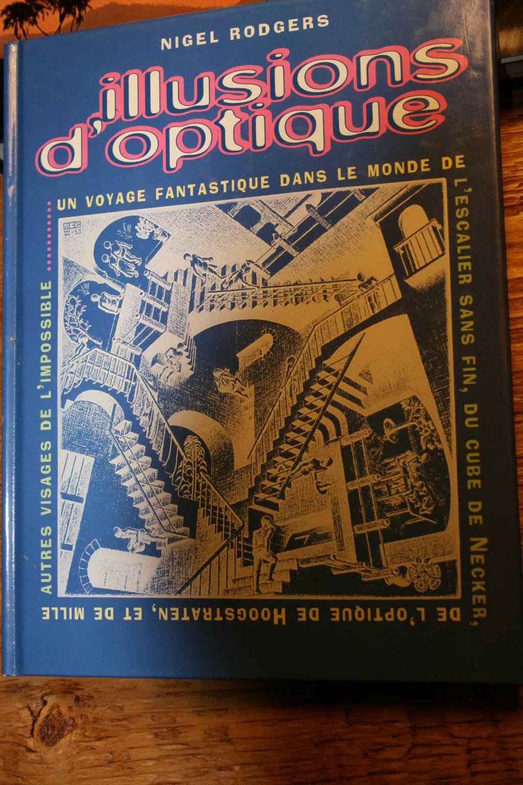Illusions d 39 optique par nigel rodgers peinture dessin for Illusion d optique peinture