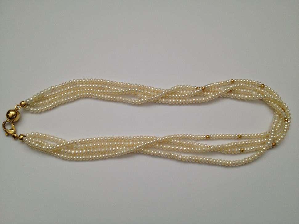 collier de perles de culture bucherer perles. Black Bedroom Furniture Sets. Home Design Ideas