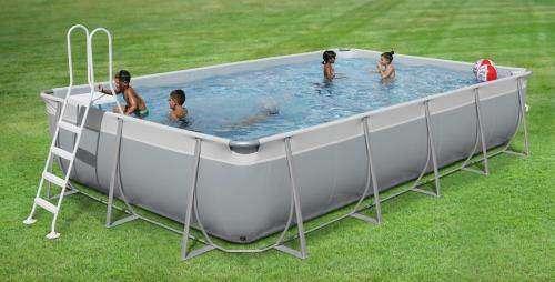 Piscine hors sol kit easy de waterman piscines accessoires - Piscine en kit hors sol ...