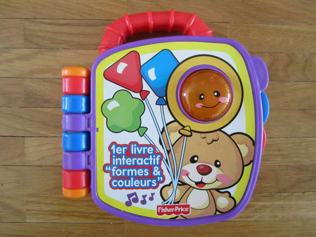 1er Livre Interactif Formes Couleurs Fisher Price