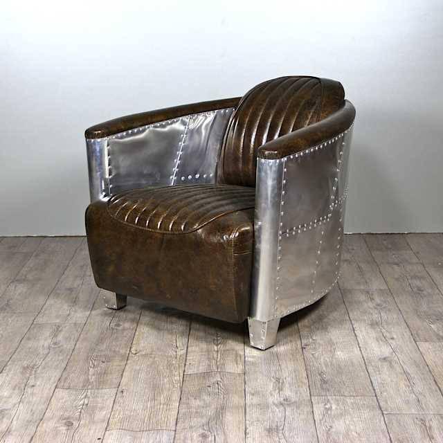 fauteuil cuir aviateur 65 offre speciale poltrone divani. Black Bedroom Furniture Sets. Home Design Ideas