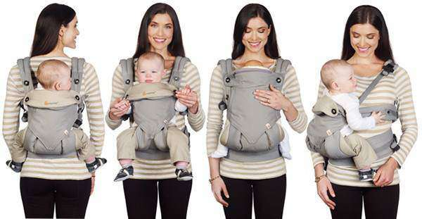 ERGOBABY 360 degrés Porte-bébé 4 positions