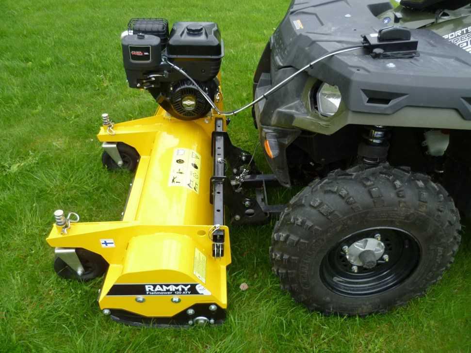 Tondeuse pareuse broyeur rammy pour quad for Tarif pour tondre une pelouse