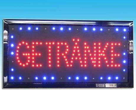 Reklame Beleuchtung Schilder | Led Beleuchtung Reklame Schild Bild Getranke Professionelle