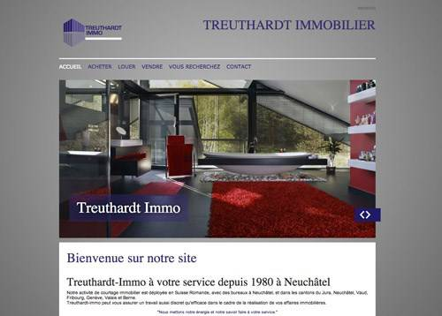 Site internet pour agence immobili re idx for Agence immobiliere 01