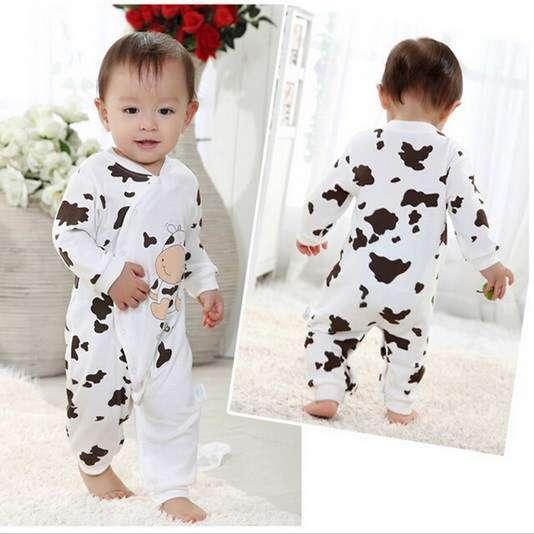 e051b0171c504 Pyjama vache pour garçon et fille - Pyjamas   vêtements de nuit