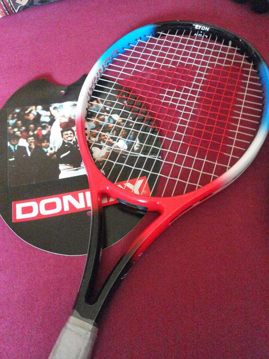 raquette de tennis donnay henri leconte sl3 neuve rackets. Black Bedroom Furniture Sets. Home Design Ideas