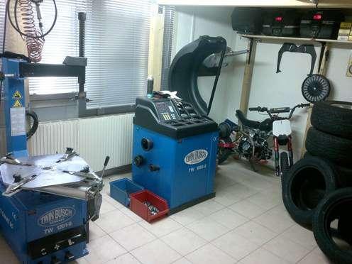 ventes de pneus montage et quilibrage au garage f25 professionelle angebote. Black Bedroom Furniture Sets. Home Design Ideas