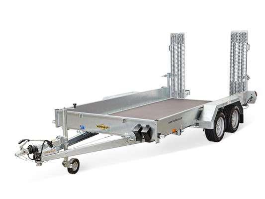 action remorque porte machine humbaur hs353016 3500kg. Black Bedroom Furniture Sets. Home Design Ideas
