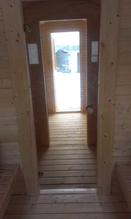 sauna 3 pieces piece sauna vestiaire et douche sauna zubeh r. Black Bedroom Furniture Sets. Home Design Ideas