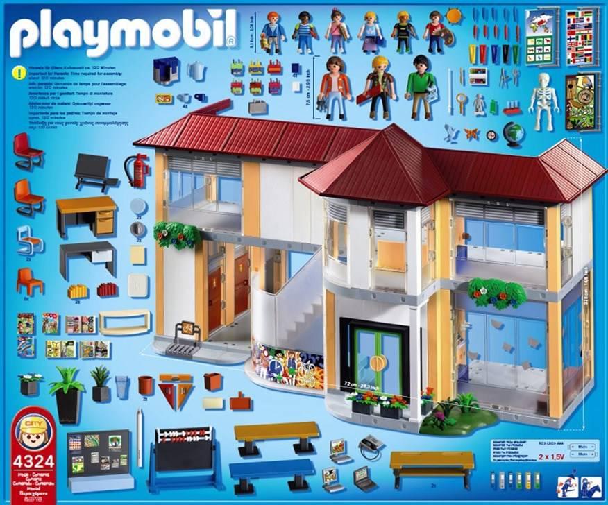 Playmobil Schule Bauanleitung
