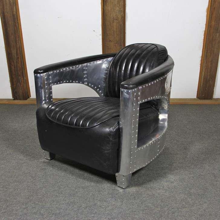 fauteuil cuir aviateur 65 offre speciale sessel liegen. Black Bedroom Furniture Sets. Home Design Ideas