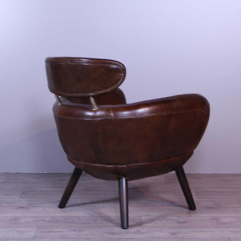 sessel sixtees braun leder sessel liegen. Black Bedroom Furniture Sets. Home Design Ideas