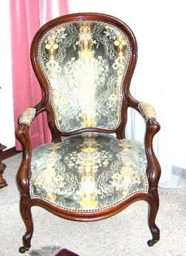 louis philippe stuhl mit 2 rollen restauriert sitz liegem bel. Black Bedroom Furniture Sets. Home Design Ideas