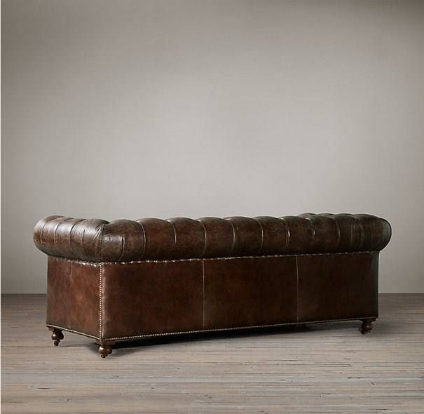 chesterfield braun ledersofa the first sofas polstergruppen. Black Bedroom Furniture Sets. Home Design Ideas