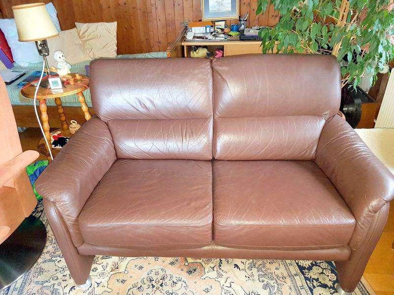 canap en cuir brun sofas canap s d 39 angle. Black Bedroom Furniture Sets. Home Design Ideas