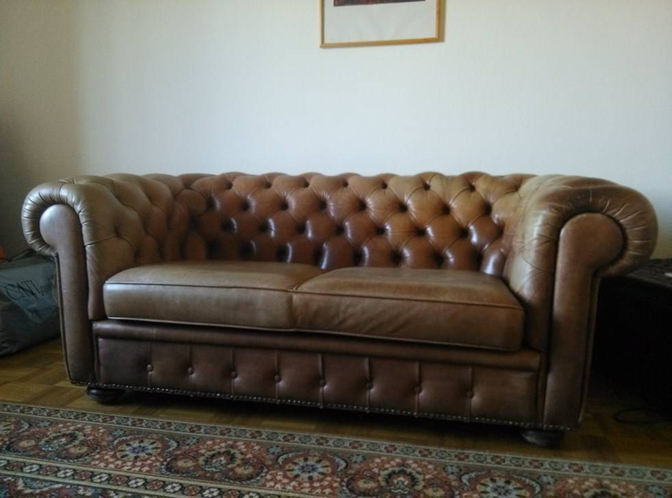 Divano poltrona chesterfield in pelle sofas canap s for Poltrona chesterfield