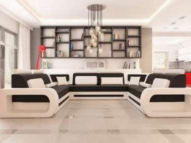 Xxl Big Wohnlandschaft U Form Ecksofa Sofa Couch 4201