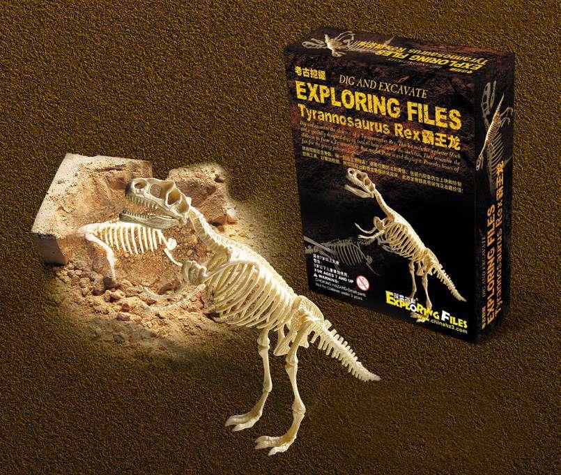 ausgrabungsset dinosaurier tyrannosaurusrex trex experimen