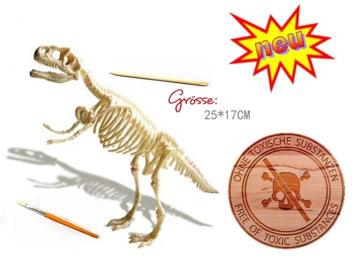 ausgrabungsset dinosaurier tyrannosaurusrex trex