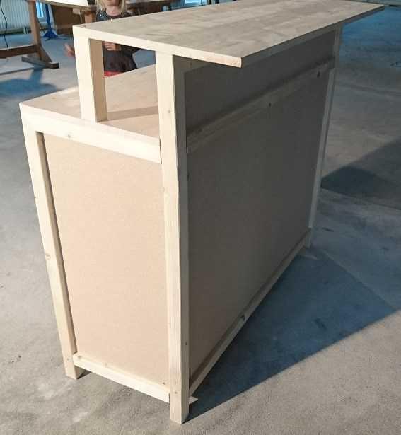 bartheke bar elemente aus holz sonstiges. Black Bedroom Furniture Sets. Home Design Ideas