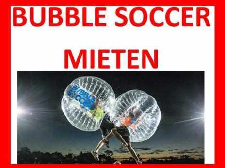 Bubble Soccer Bubble Ball Bumper Fussbal Loopyball mieten