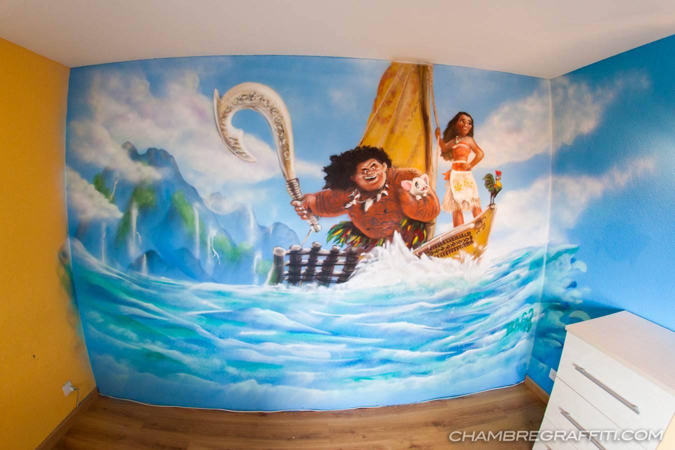 d co trompe l 39 oeil pour chambre d 39 enfant chambregraffiti. Black Bedroom Furniture Sets. Home Design Ideas