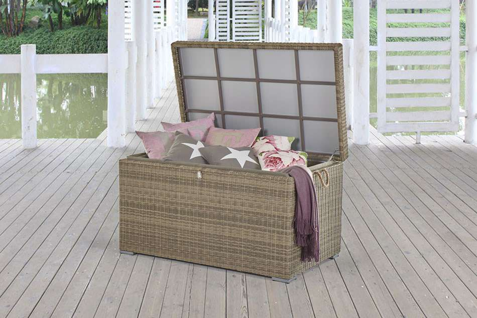 gartenbox wasserdicht kissentruhe gartenm bel. Black Bedroom Furniture Sets. Home Design Ideas