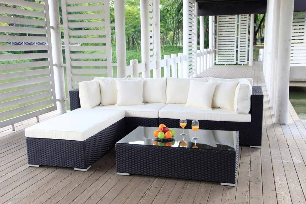 pe rattan gartenm bel garten sofa rattan lounge gartenm bel. Black Bedroom Furniture Sets. Home Design Ideas
