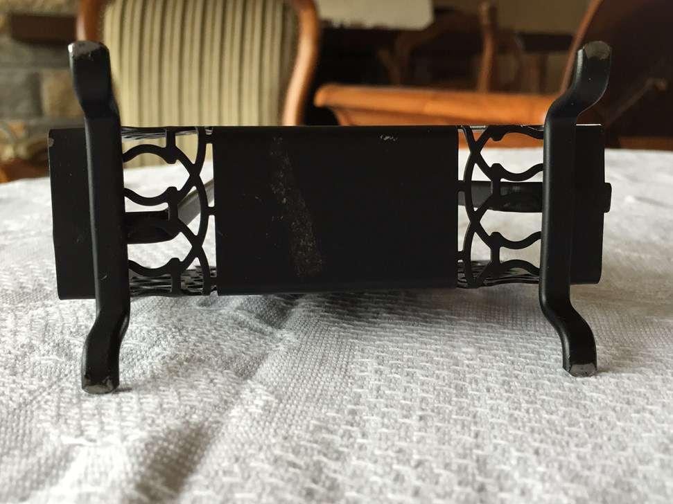 Porte Cartes De Visite En Forme Journaux Metal Noir 11723125