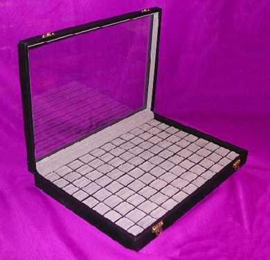 pr sentoir bagues box avec vitre sonstiges. Black Bedroom Furniture Sets. Home Design Ideas