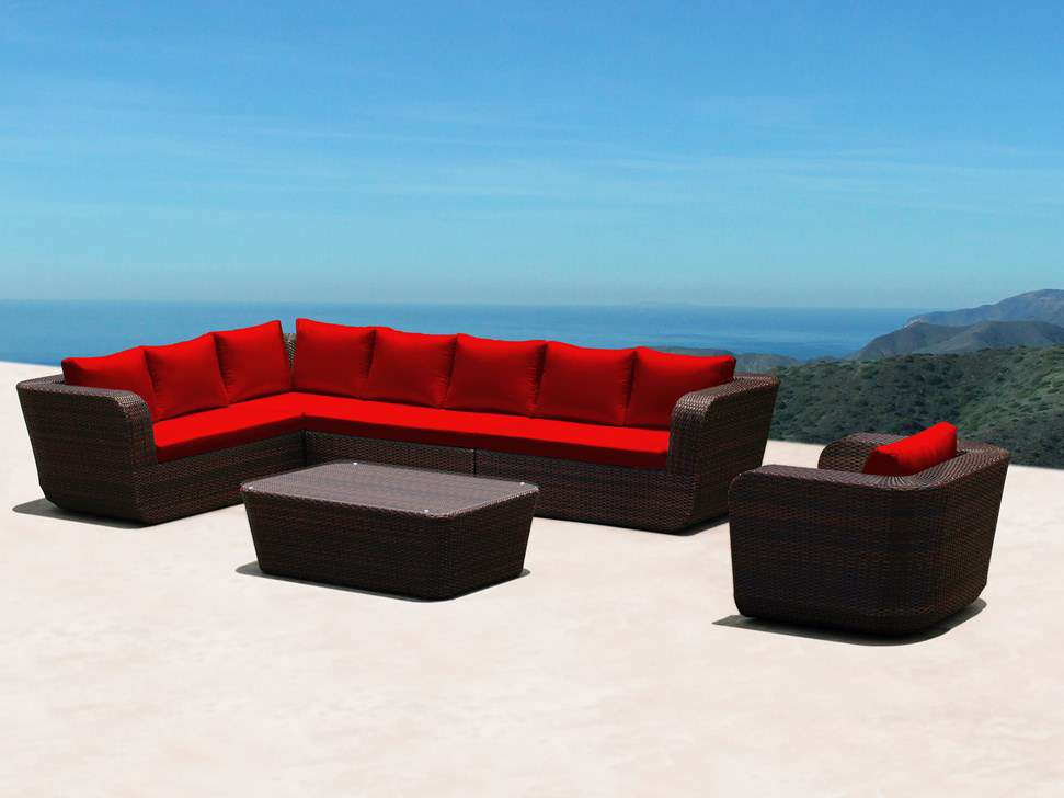 rattan lounge xxl deluxe sonstiges. Black Bedroom Furniture Sets. Home Design Ideas