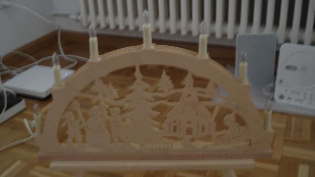 Schön geschnitzter Weihnachtsbogen, Lichterbogen - Sonstiges