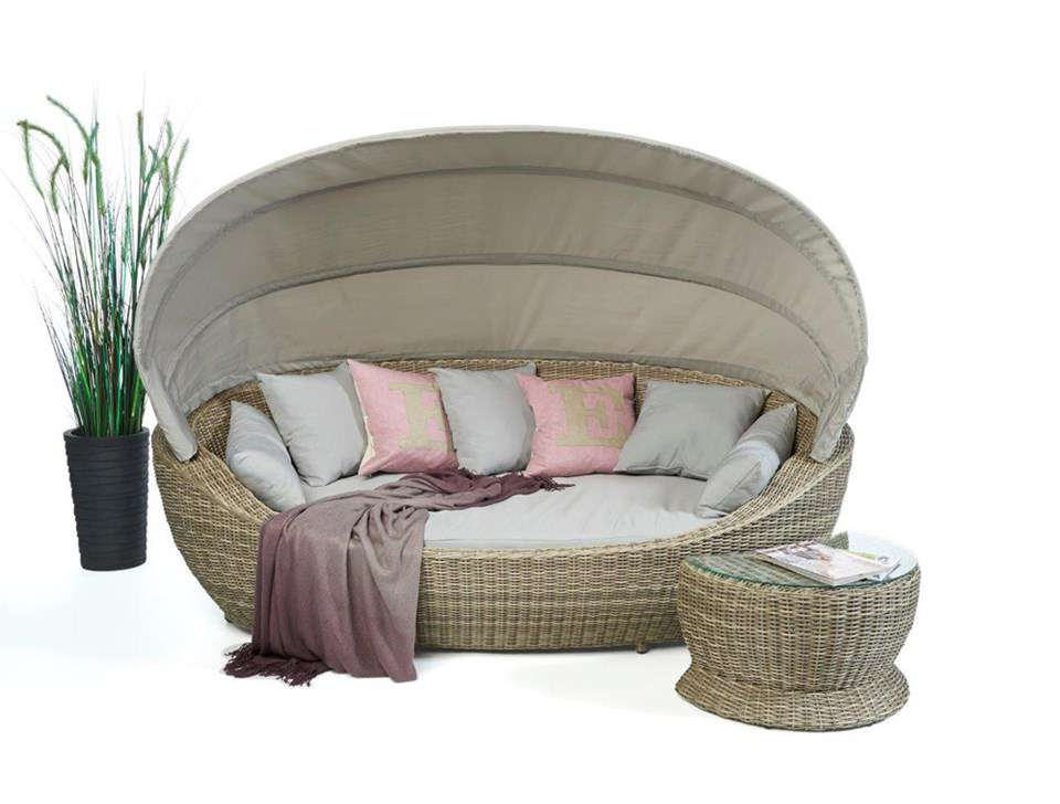 sonneninsel rattan liege gartenm bel strandkorb sonstiges. Black Bedroom Furniture Sets. Home Design Ideas