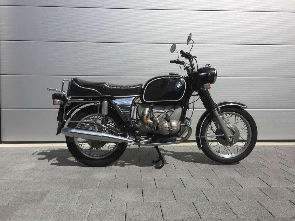 bmw r60 5 oldtimer motorrad strasse naked bike. Black Bedroom Furniture Sets. Home Design Ideas