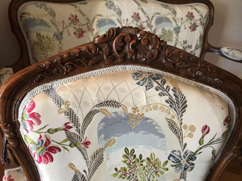 Magnifique Salon de style complet - Stühle