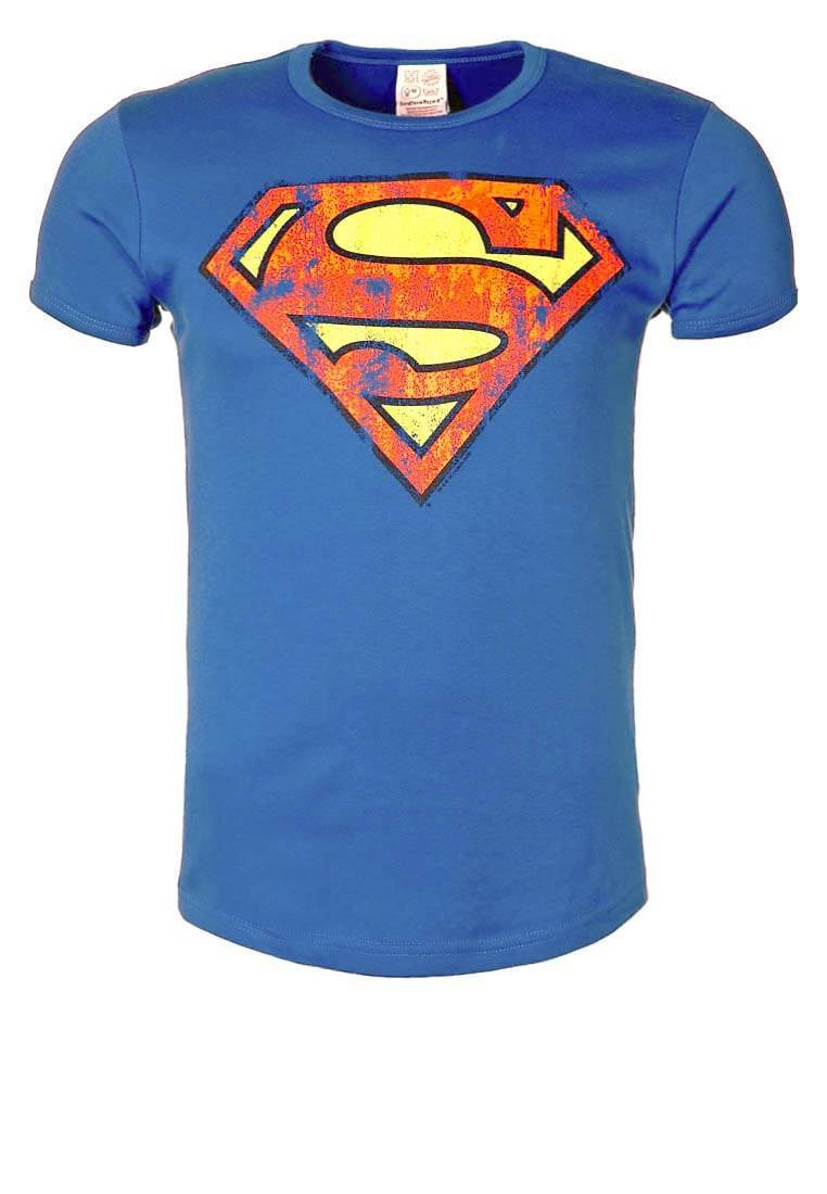 T shirt vintage logo superman t shirts for Old logo t shirts