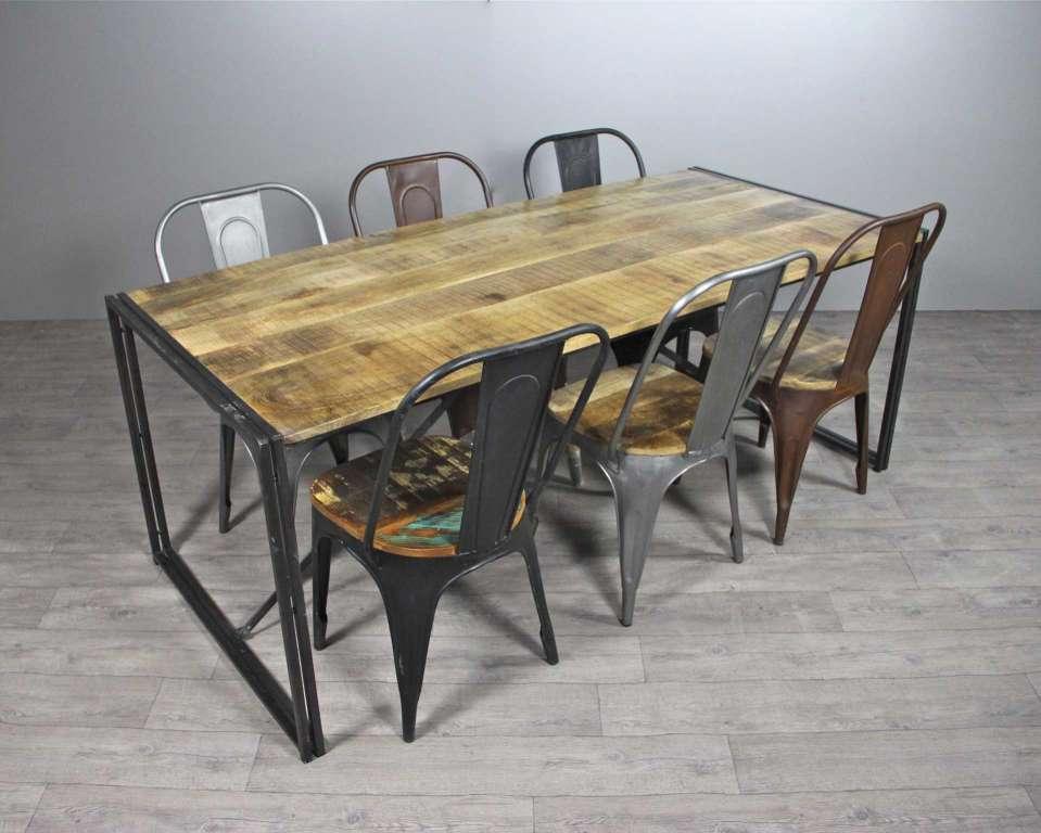 Tables Chaises Meubles Industriel