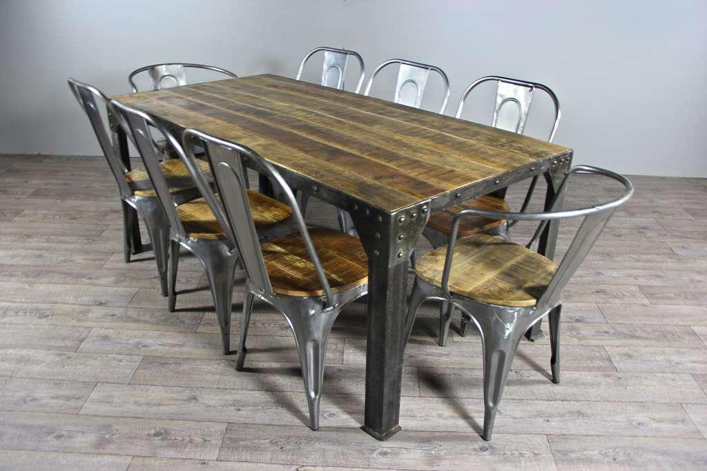 Tables De Repas Et Meubles Industriel 8475325