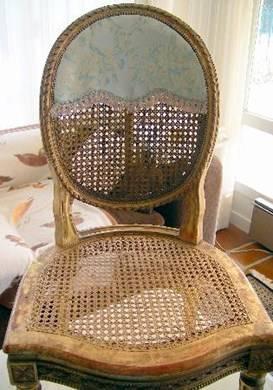 Une chaise louis xvi salle manger for Chaise salle a manger louis xvi