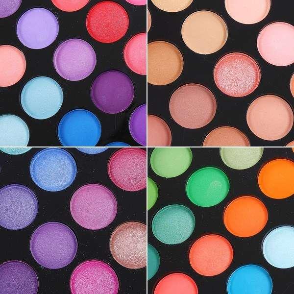 Coffret Palette Maquillage avec 180 couleurs Froides/Chaudes - Teint