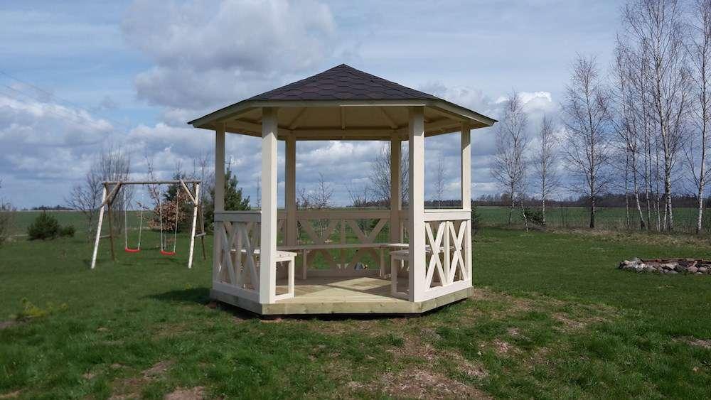 Kiosque de jardin de 6m2 tentes pavillons for Abris de jardin 6m2