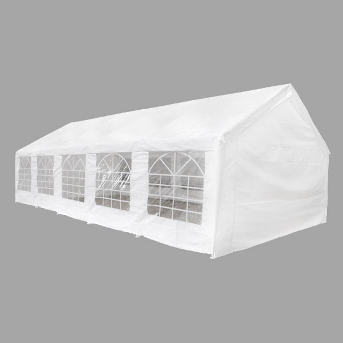 Zelt 10 Meter : Zelt festzelt partyzelt pavillon meter weiss