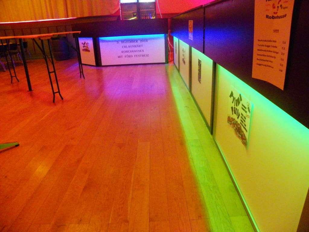 Bartheken mit LED Beuchtung - Traiteurs & Partyservice