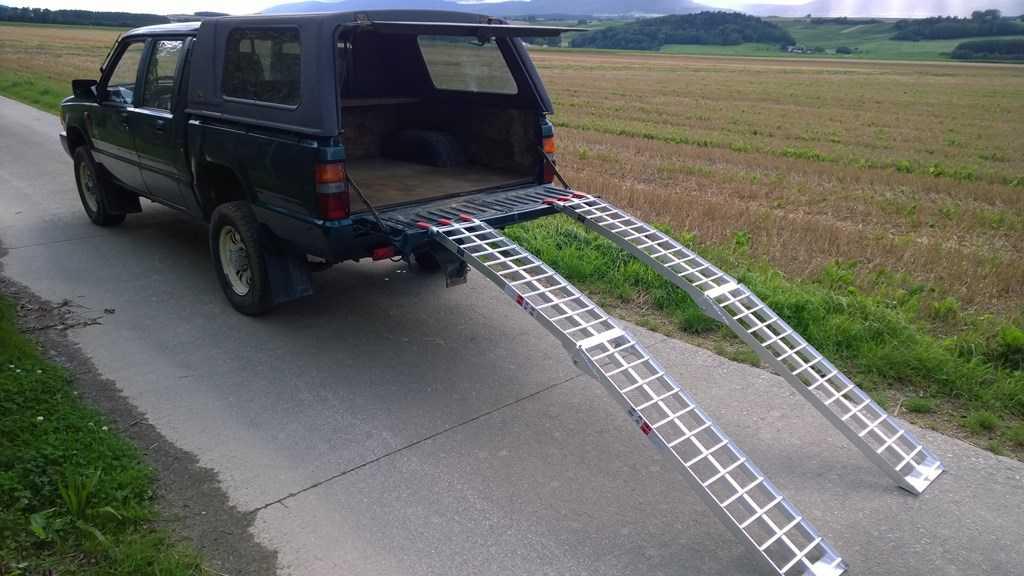 Rampe Pour Moto : rampes de chargement pour motos ou autres transport ~ Nature-et-papiers.com Idées de Décoration