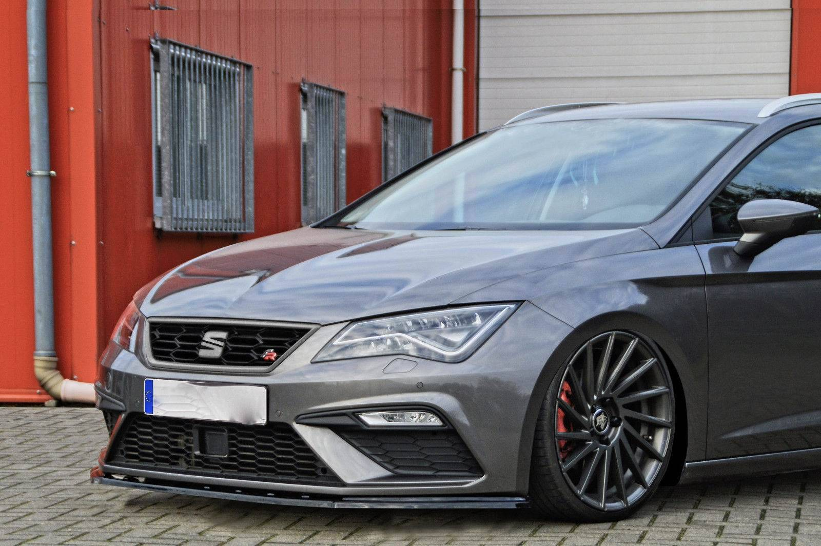 spoilerschwert frontspoiler seat leon 5f facelift fr cupra. Black Bedroom Furniture Sets. Home Design Ideas