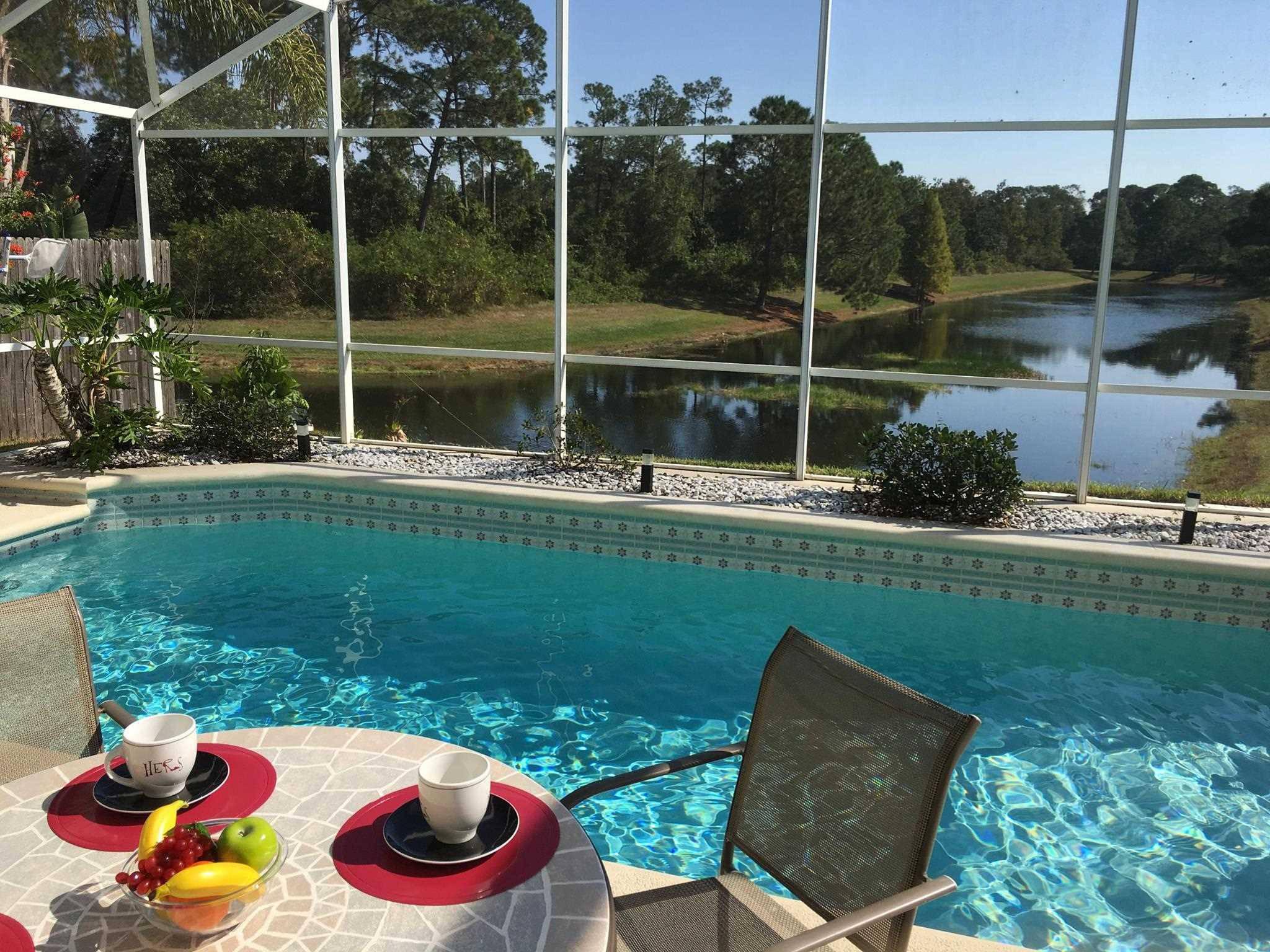 Splendide villa avec piscine 10mn de disney orlando for Villa avec piscine