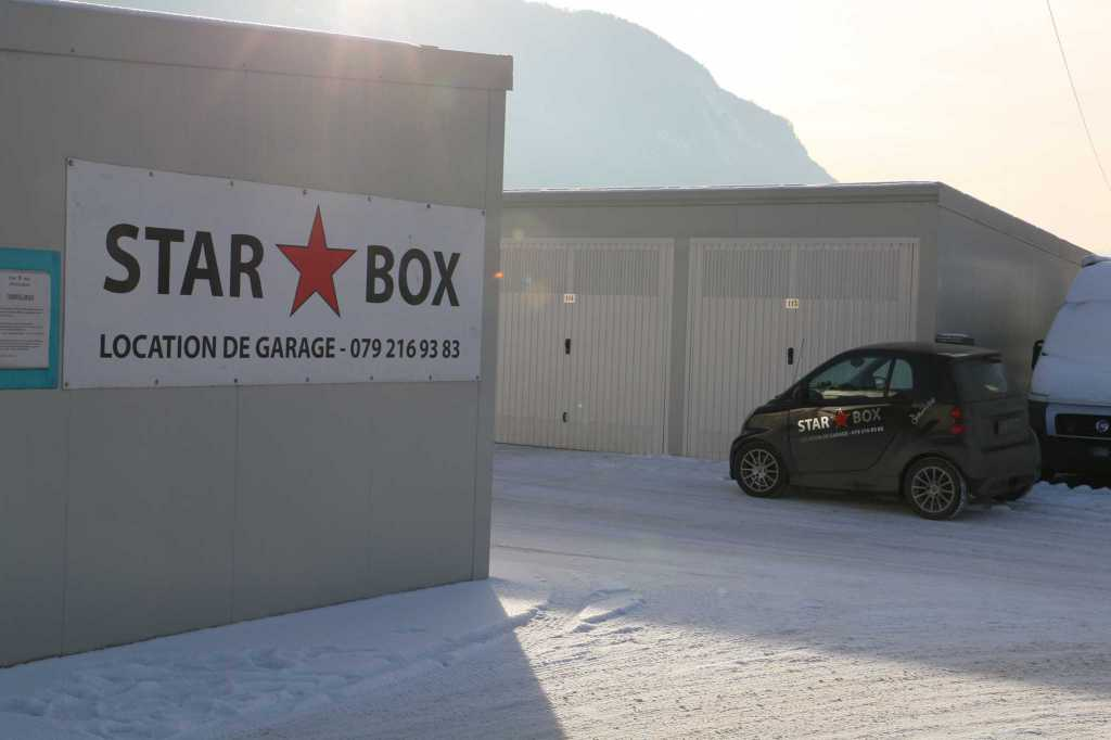 Garde meuble boxes garage sion v troz sierre granges for Box garage location