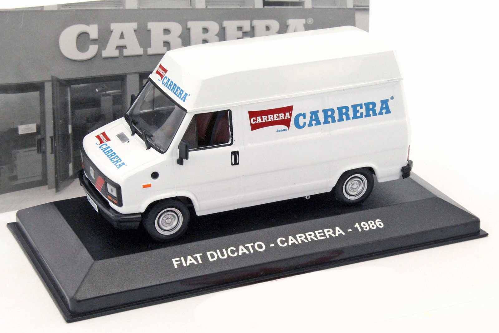 neu fiat ducato i typ 280 1982 1990 carrera 1986 weiss. Black Bedroom Furniture Sets. Home Design Ideas